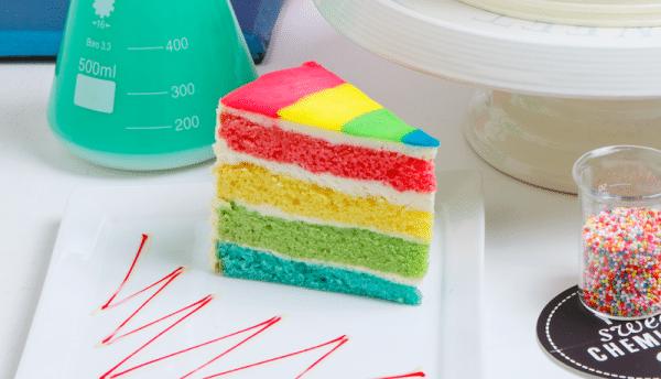 rainbow slice