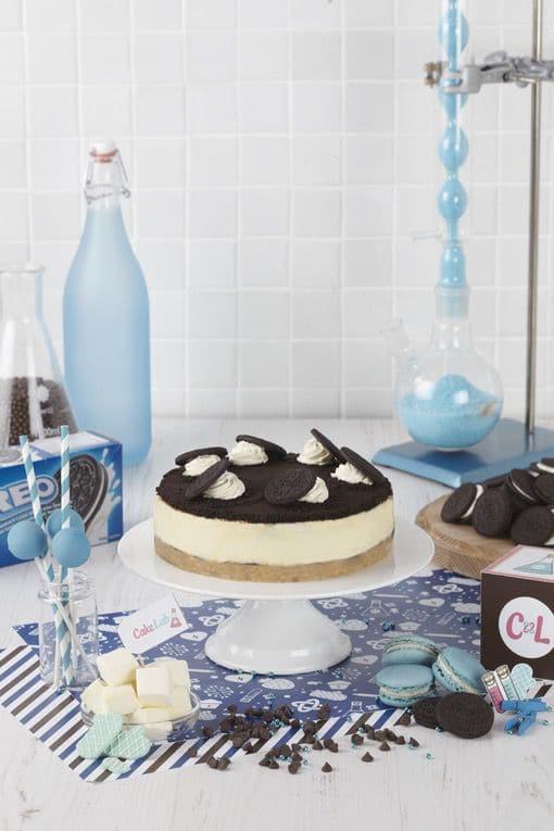 Oreo Crumble Cheesecake