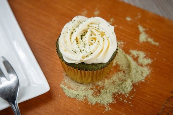 cupcake – green tea 2