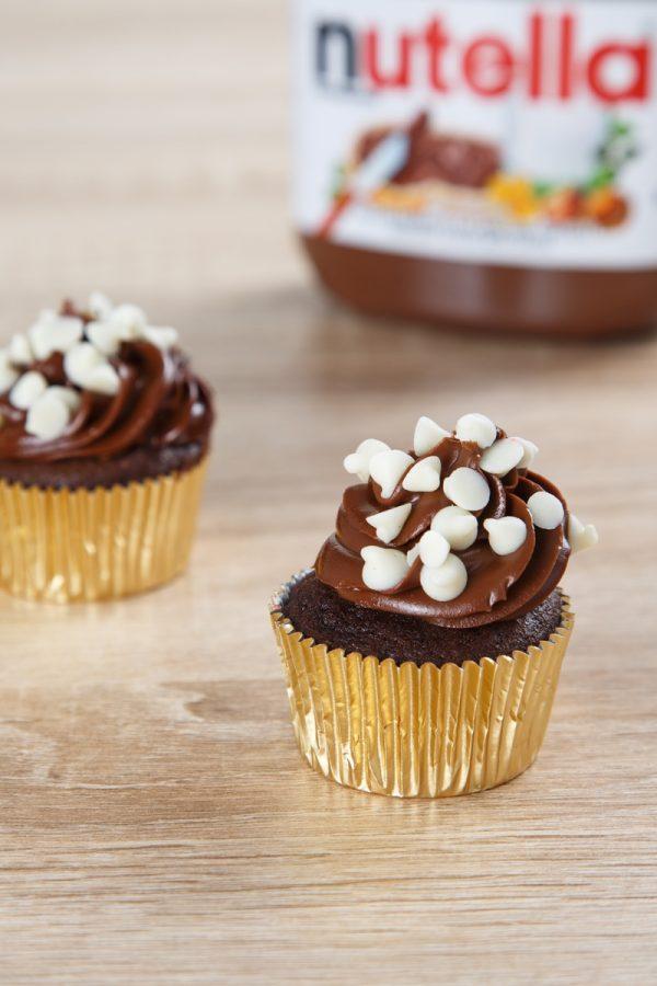 cupcake – nutella bomb 1
