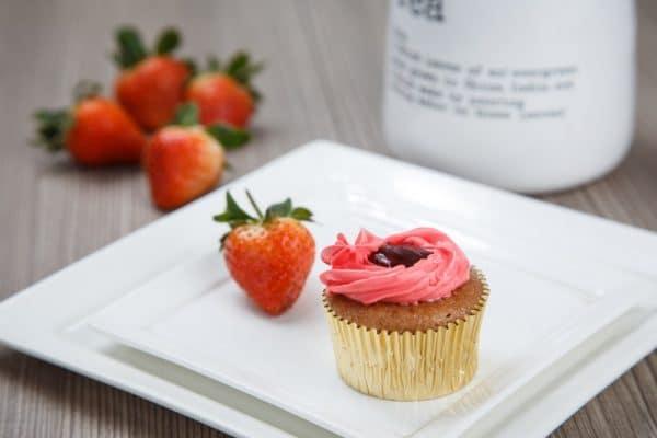 cupcake – strawberry 2