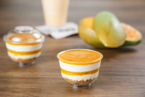pastry – mango cheesecake 1