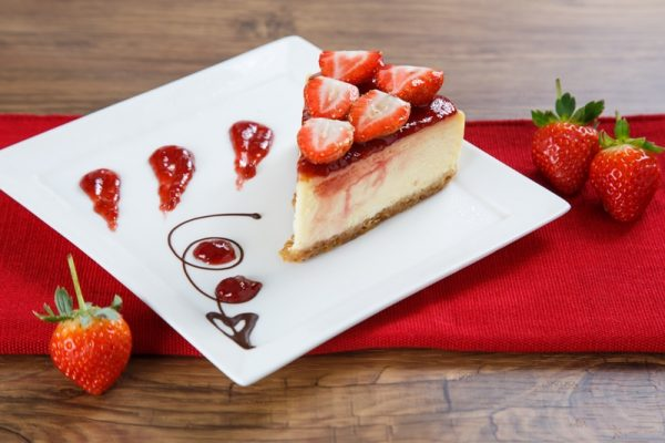 pastry – strawberry cheesecake 1